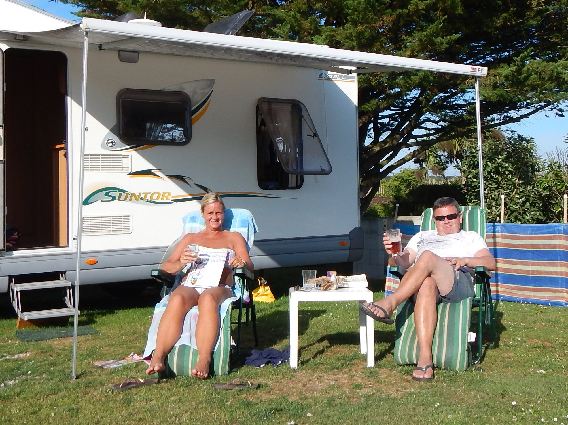 Motorhomes Holiday In Cornwall