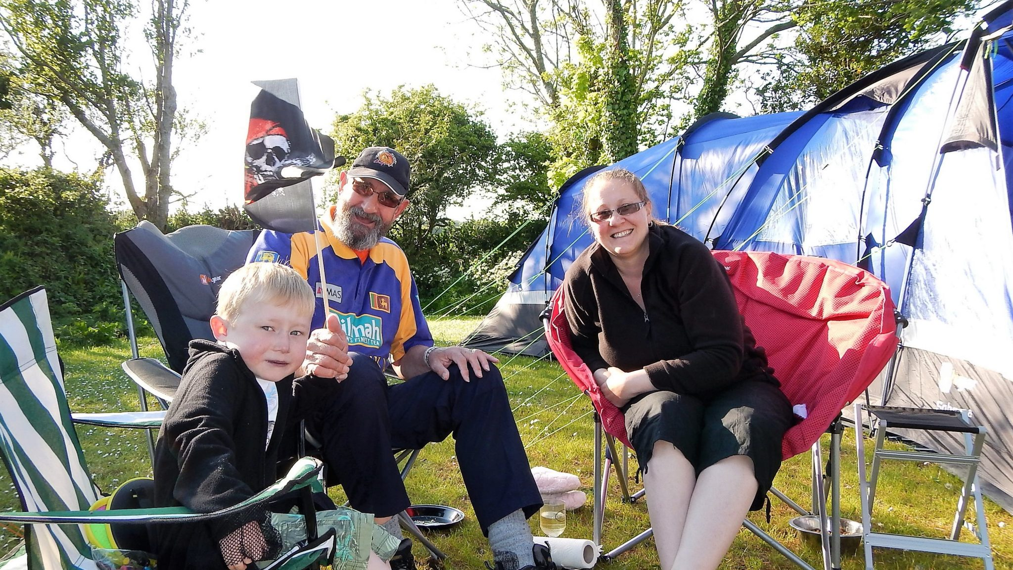 Family Camping Site On The Lizard