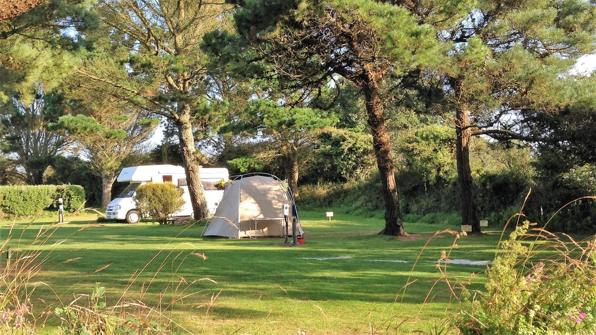 Quiet Holiday Park In Cornwall