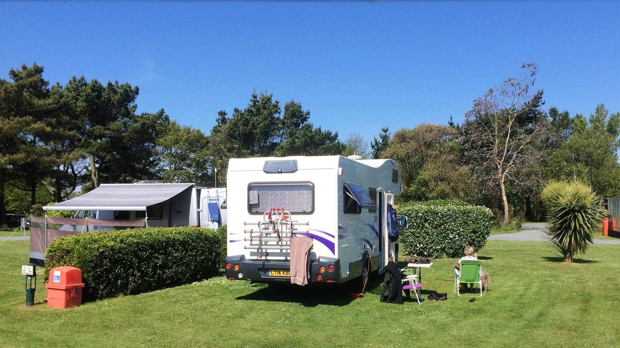 Hardstanding Motorhome Holiday Park In Cornwall