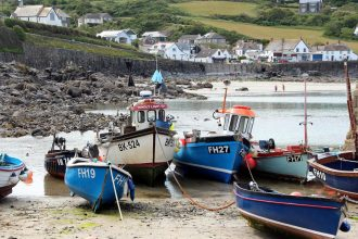 Coverack - Enchanted Fishing Village In South West Cornwall