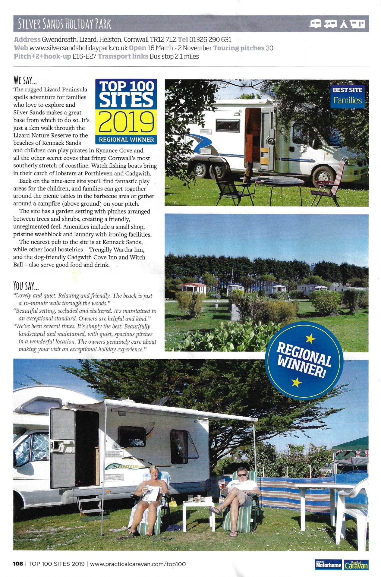 Top 100 Sites Practical Caravan